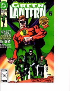 Lot Of 2 DC Comic Book Green Lantern #19 and Mosaic #1  AH12