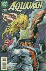 Aquaman (1994 series) #24, VF+ (Stock photo)