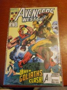 Avengers West Coast #92 (1993)