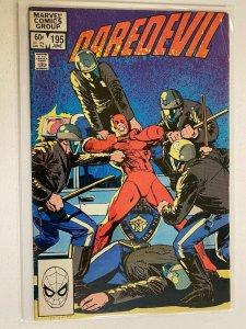 Daredevil #195 direct edition 4.0 VG (1983)
