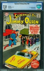 Jimmy Olsen #100 (DC, 1967) CBCS 7.0