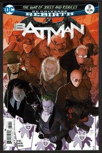 Batman #31 Rebirth (Nov 2017, DC) 0 9.0 VF/NM