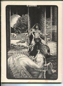 Rocket's Blast ComiCollector #109 1974-Conan cover-Wally Wood art-buy/sell ads-G
