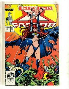 Lot of 12 X-Factor Marvel Comic Books #37 38 39 40 60 61 62 63 64 65 66 67 SM21