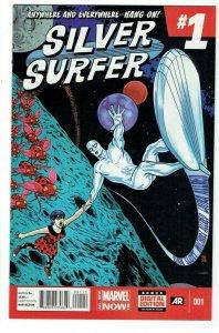 SILVER SURFER #1  DAN SLOTT AND MICHAEL ALLRED NM 1ST PRINT