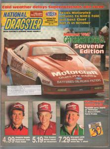 National Dragster-NHRA  3/17/1989-Gatornationals-edition-Amato-Morgan-Snake-FN