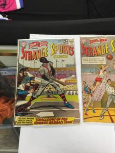 The Brave And The Bold 45 46 47 To 2.0–4.0 Good – Very Good Strange Sports