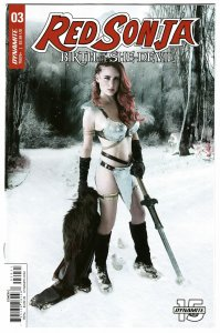 Red Sonja Birth Of She Devil #3 Cvr C Cosplay Variant (Dynamite, 2019) NM