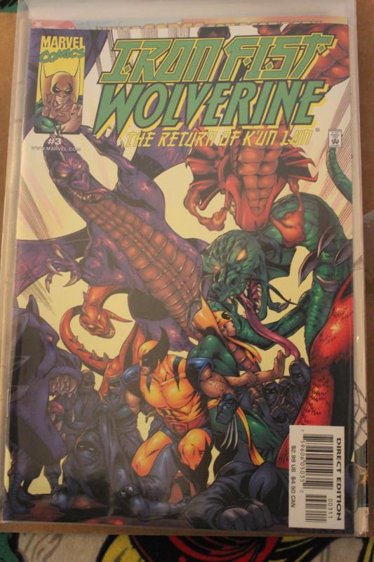 Iron Fist Wolverine 3  NM/MT