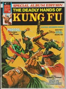 DEADLY HANDS OF KUNG FU SPECIAL #1 VF 1974 SHANG-CHI, IRON FIST MARVEL COMICS
