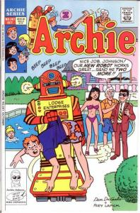ARCHIE  (1942-     )381 VF-NM October 1990 COMICS BOOK