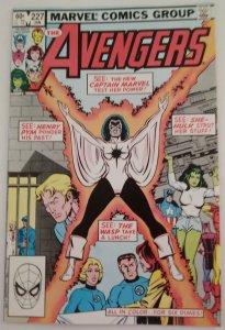 AVENGERS #227 Marvel Comics ID#MBX2