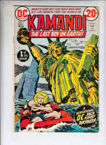 Kamandi the Last Boy on Earth #1 (Nov-72) VF- High-Grade Kamandi