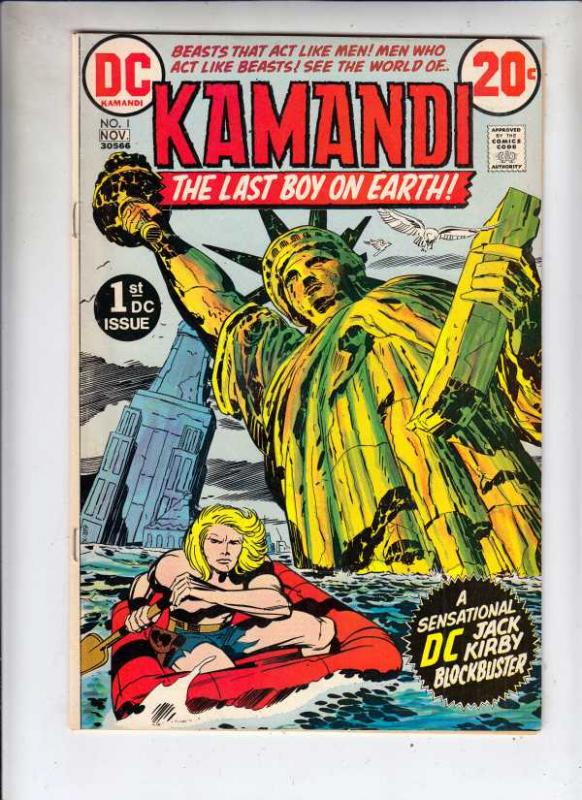 Kamandi the Last Boy on Earth #1 (Nov-72) VF- High-Grade Kamandi
