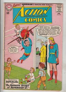 Action Comics #299 (Apr-63) FN Mid-Grade Superman, Supergirl