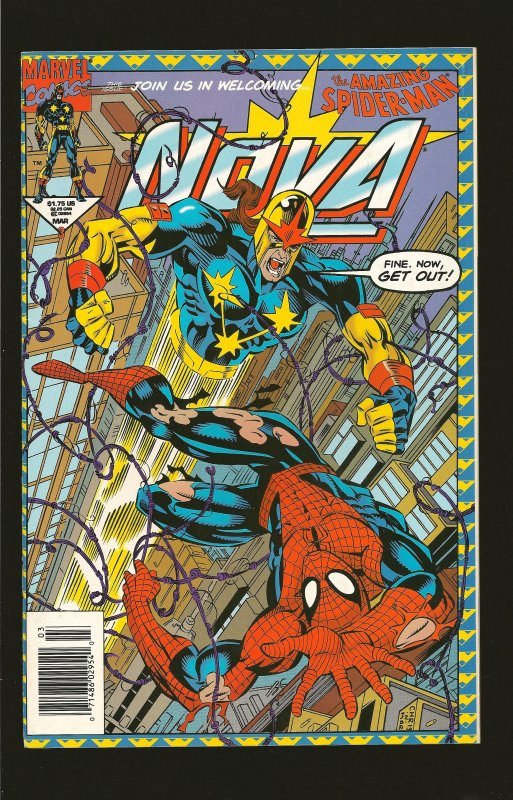 Marvel Comics Nova Vol 1 No 3 March 1994