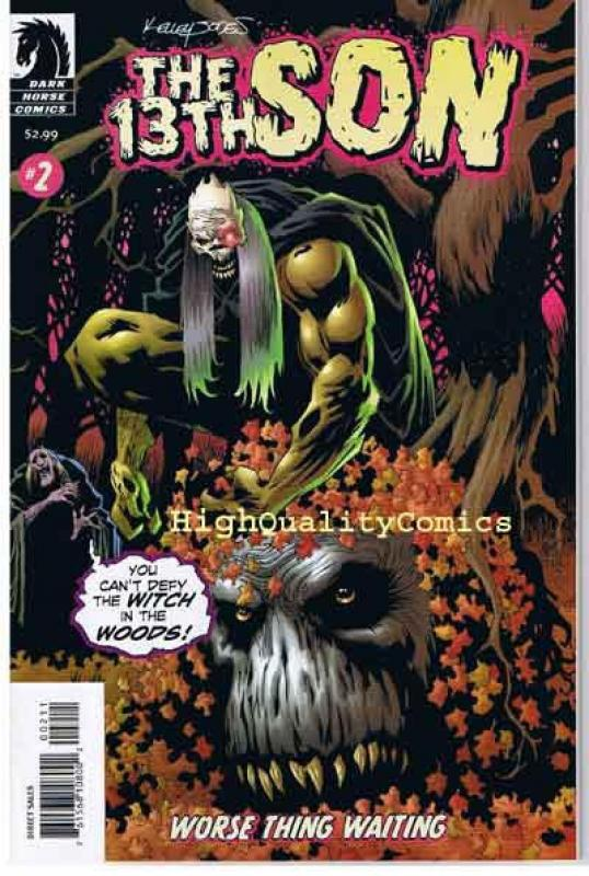 The 13th SON #1 2 3 4, NM+, Kelley Jones, Monsters, Witch, Demons, Devil, Horror