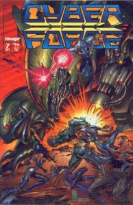 Cyberforce (1993 series) #7, NM + (Stock photo)