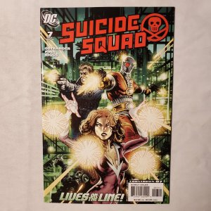 Suicide Squad 7 Very Fine/Near Mint Cover by John K. Snyder