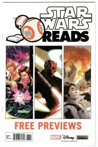 Star Wars Reads Marvel Promo | Age Of Republic | Rebellion | Resistance (NM)