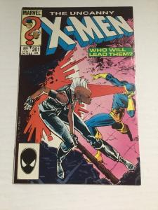 Uncanny X-Men 201 NM Near Mint First 1st Appearance Of Nathan Summers