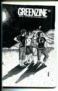Greenzine #12 2002-counter culture travel-Cristy Road comic style art-FN