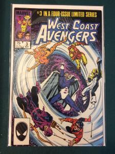 West Coast Avengers #3 of 4