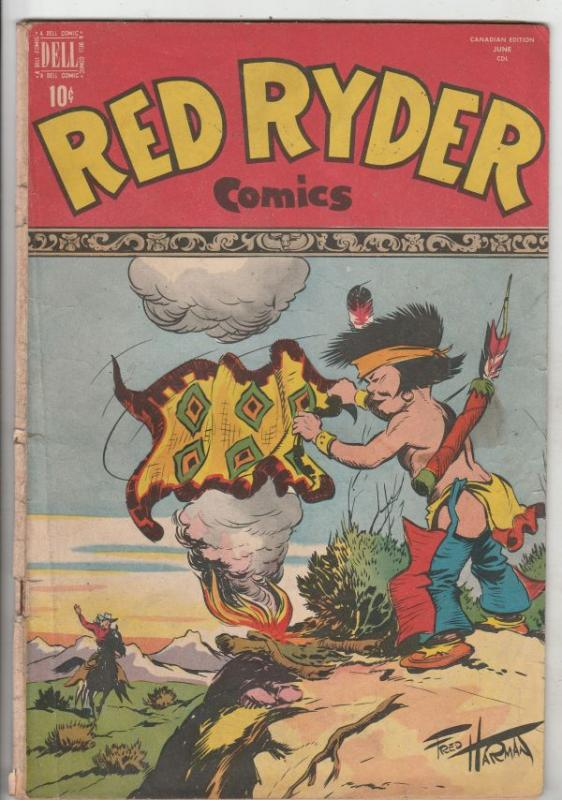 Red Ryder Comics #58 (May-48) VG+ Affordable-Grade Red Ryder