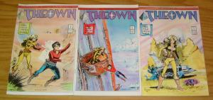 Adventures of Theown #1-3 VF/NM complete series 1986 PYRAMID francine mezo 2 set