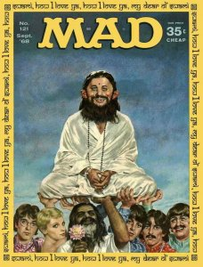 Mad #121 VG; E.C   low grade comic - save on shipping - details inside