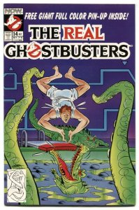 The Real Ghostbusters #14 1988- Now Comics VF