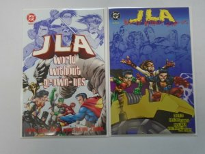 JLA World Without Grown-Ups set #1+2 6.0 FN (1998)