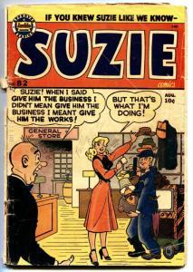 SUZIE #82 1951-ARCHIE COMICS-KATY KEENE-GINGER-TV SET COVER g