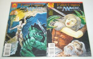 Fallen Empires on the World of Magic the Gathering #1-2 VF/NM with booster pack