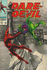 Daredevil (1964 series) #45, VG+ (Stock photo)