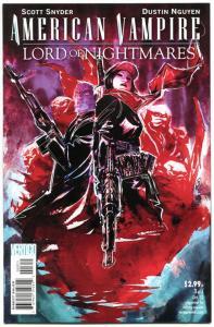 AMERICAN VAMPIRE : Lord of Nightmares #3, VF/NM, Vertigo, 2012, more in store