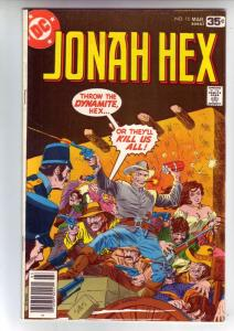 Jonah Hex #10 (Mar-78) FN/VF+ Mid-High-Grade Jonah Hex