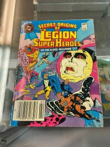 Secret Origins of the Legion of Superheroes DC digest 33