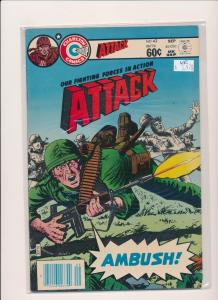 Charlton Comics Group ATTACK #42 Sept 1983  VERY FINE (PF245)
