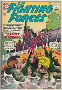 Our Fighting Forces #86 (Aug-64) VF High-Grade Gunner and Sarge, Pooch