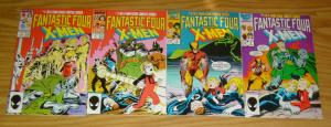 Fantastic Four vs X-Men #1-4 VF/NM complete series - direct market variants 2 3