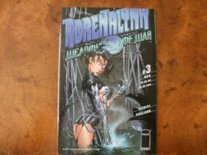 IMAGE Comic Book: ADRENALYNN WEAPON OF WAR #3 (1999) VF-NM
