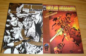 Outlaw Overdrive #1 VF/NM red edition one-shot + gold blue limited edition 1995