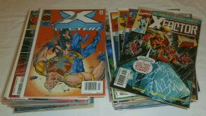 X-Factor V1 #111-149 (no 144,147) V3 #1-12 Epting Peter David, comics lot of 51