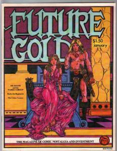 Future Gold #7 1980-Schutt-Ziff-Davis checklist-crime comics history-FN