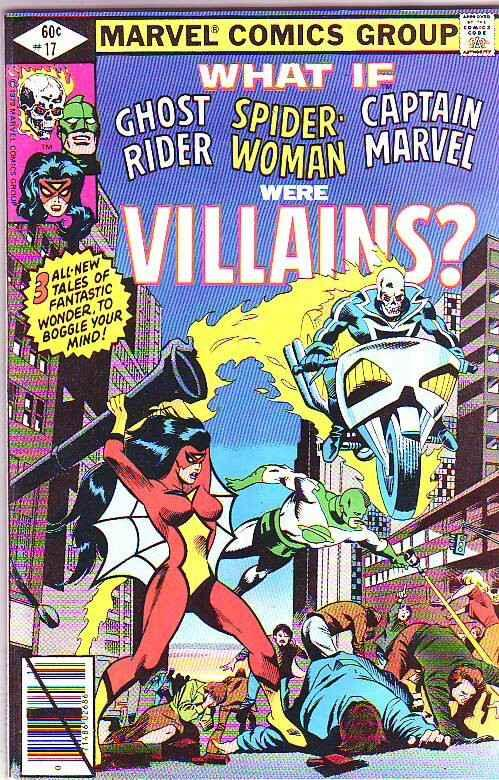 What If #17 (Oct-79) NM- High-Grade Spider-Woman, Ghost Rider, Captain Marvel