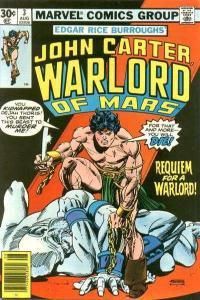 John Carter: Warlord of Mars (1977 series) #3, VF- (Stock photo)