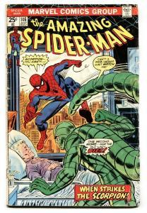 AMAZING SPIDER-MAN #146 1975-MARVEL COMICS-SCORPION vg-