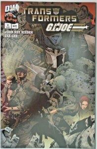 Transformers G.I. Joe (2003 Dreamwave, of 6) All 10 Covers