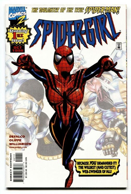 SPIDER-GIRL #1 comic book-Marvel 1998-First issue